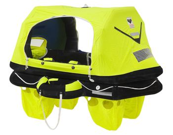 Foto - LIFERAFT FOR 4 PERSONS, RESCYOU PRO, KONTEINER