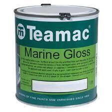 Foto - TOPCOAT- TEAMAC MARINE GLOSS, ATLANTIC BLUE, 1 l