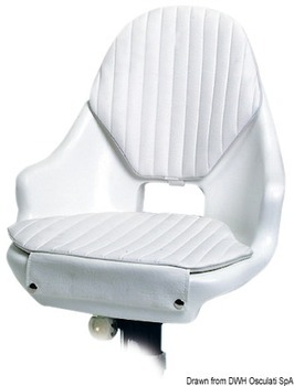 Foto - POLYETHYLENE SEAT WITH CUSHIONS, COMPACT