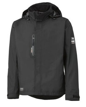 JACKET- HH HAAG, BLACK, XXL