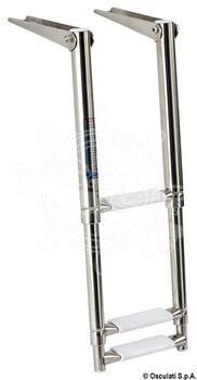 Foto - TELESCOPIC LADDER, 3-STEPS, 89 cm, NARROW
