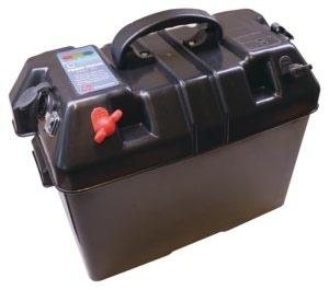 Foto - BATTERY BOX, WITH USB AND LIGHTER SOCKETS, 410 x 230 x 300 mm