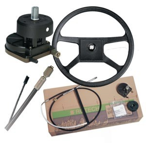 Foto - STEERING SYSTEM FULL SET- ULTRAFLEX, ROTECH 4, 13
