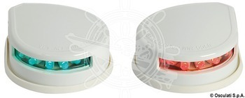 Foto - NAVIGATION LIGHTS - RED + GREEN, SET