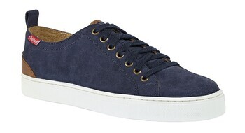 Foto - CASUAL SHOES- CHATHAM HERON SUEDE NAVY, FOR MEN, no.45
