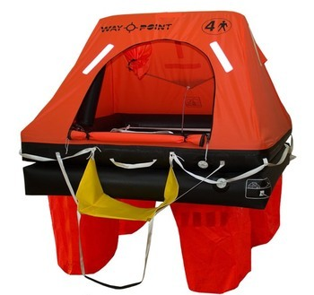 Foto - LIFERAFT FOR 6 PERSONS, WAYPOINT COMMERCIAL, CONTAINER