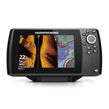 Foto - HUMMINBIRD HELIX 7 MEGA SI + GPS G3